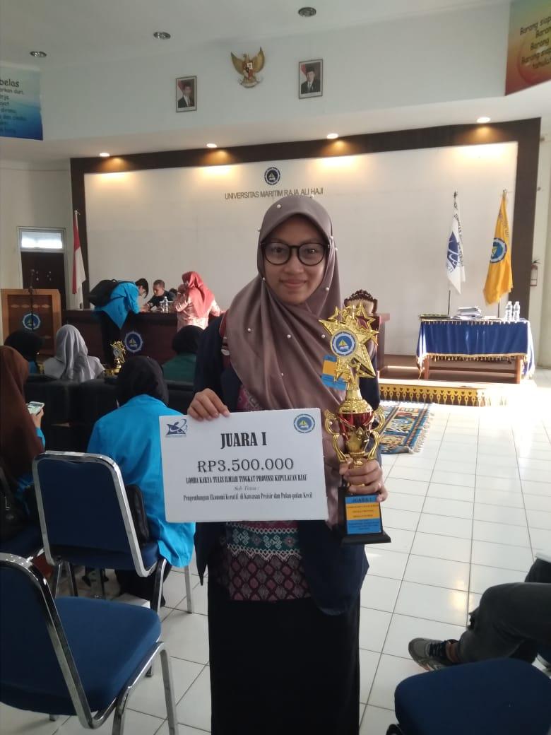 Juara 1 Lomba Karya Tulis Ilmiah Tingkat Provinsi KEPULAUAN RIAU