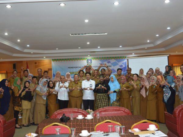 Unyil Ikuti Rapat Koordinasi Perpustakaan dan Kearsipan Se- Provinsi Kepulauan Riau