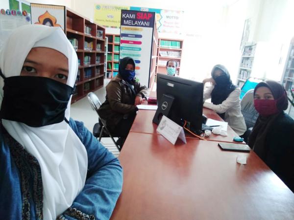New Normal, Perpustakaan STAIN SAR Kepri Siapkan Strategi Pelayanan