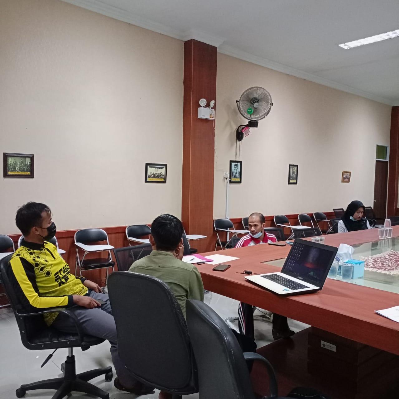 Rapat Persiapan Kegiatan Riset Penghimpunan Naskah-Naskah Melayu di Kabupaten Lingga